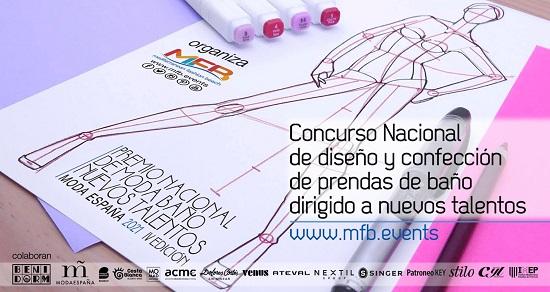 Mediterranean Fashion Beach (MFB) convoca la IV Edició del Concurs Nacional de disseny i confecció en moda bany 2021, per a promocionar als nous talents de la moda d'Espanya