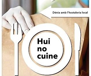 L'Ajuntament de Dénia llança la campanya 'Jo, hui no cuine!' d'ajuda al sector local d'hostaleria i restauració