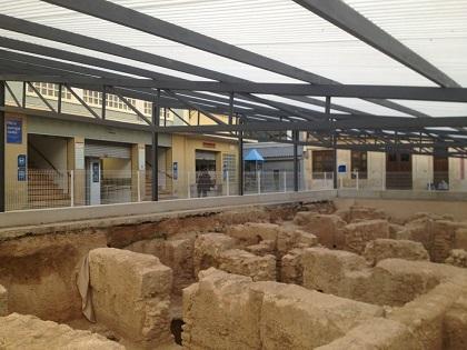El Ayuntamiento de Elche pide permiso a Conselleria para cubrir lo antes posible los restos arqueológicos del entorno del Mercado