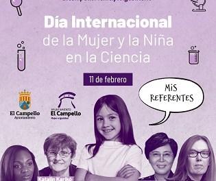 """La Concejalía de Mujer e Igualdad de El Campello lanza la campaña """"Mis referentes"""" para conmemorar el """"Día internacional de la mujer y la niña en la ciencia"""""""