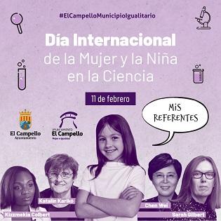 """La Regidoria de Dona i Igualtat del Campello llança la campanya """"Els meus referents"""" per a commemorar el """"Dia internacional de la dona i la xiqueta en la ciència"""""""