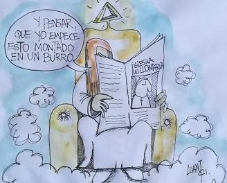 Patrimonio de la Iglesia Católica en España, viñeta #30 de Luis Antonio Mac-Beath, Luant