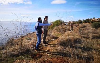 Medio Ambiente de Orihuela continúa con la protección de la Microrreserva de Punta La Glea