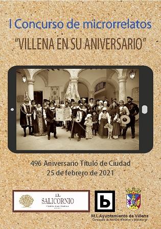 Regidoria de Biblioteques i El Salicornio Fòrum Cultural convoquen la primera edició de microrelats a Villena