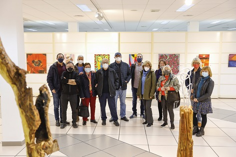 La Casa de Cultura de l'Alfàs presenta la exposición colectiva de ADAMA