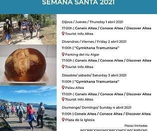 Turisme d'Altea anuncia les Visites Guiades de Setmana Santa