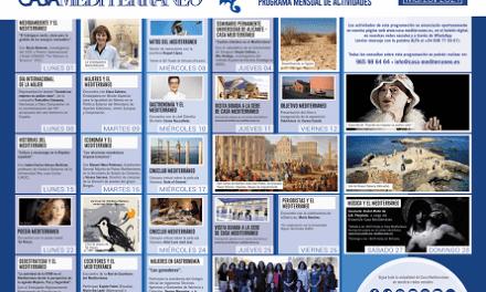 La mujer, protagonista de la programación de Casa Mediterráneo en el mes de marzo