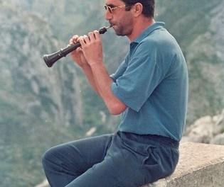 Lluís Avellà, la dolçaina en Alacant