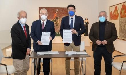 """Fundación Mediterráneo y el Ayuntamiento de Alicante renuevan el convenio de la Colección de Arte Contemporáneo y presentan en el MACA la nueva exposición """"Con el tiempo 3"""""""
