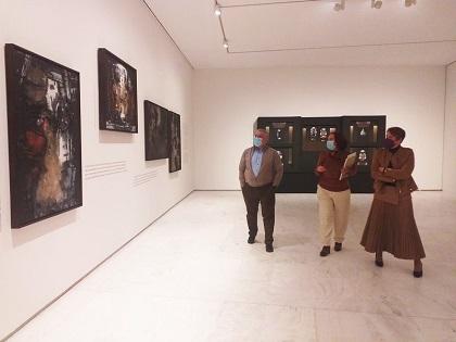 La obra de Juana Francés vuelve a ser protagonista en una exposición en el Museo de Arte Contemporáneo de Alicante