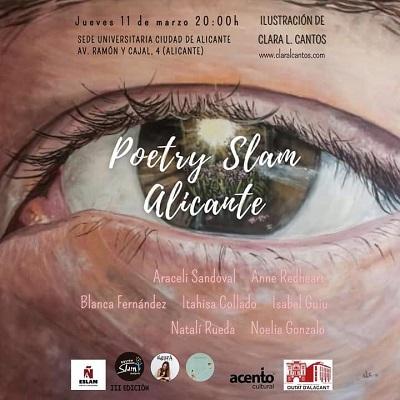 Marzo de poesía llega a Alicante con una nueva sesión del POETRY SLAM
