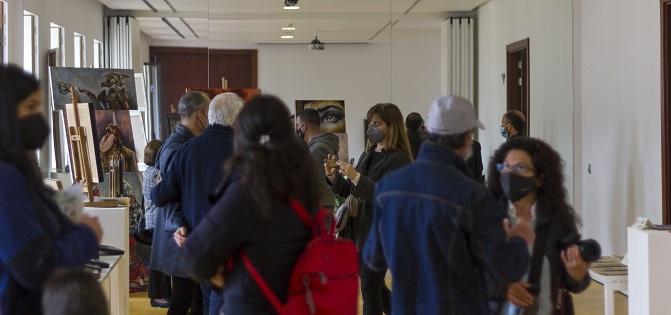 L'IVAM CADA Alcoi va acollir el passat cap de setmana un mercadet d'art dedicat a les Festes de Moros i Cristians