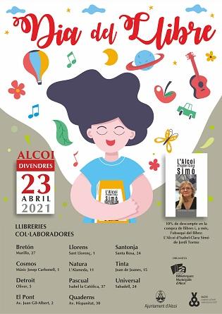 Alcoy celebra el día del libro el viernes 23 de abril