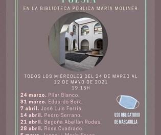 """José Luis Ferris recitará este miércoles en la Biblioteca Pública Municipal """"María Moliner"""" de Orihuela"""
