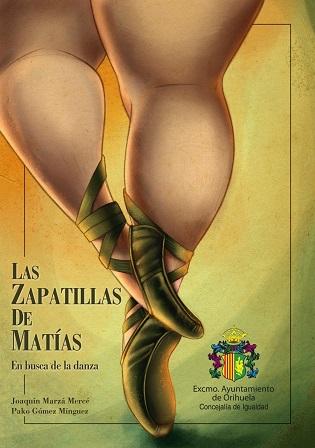 Igualdad de Orihuela presenta el libro 'Las zapatillas de Matías', escrito por Joaquín Marzá, con motivo de la celebración del 'Día Internacional de la Danza'