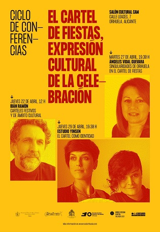 Oriola acull un cicle de conferències emmarcades en els actes de celebració de 'World Design Capital València 2022'