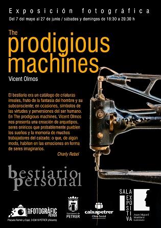 """Exposició fotográfica a Petrer: """"The Prodigious Machines"""" a càrrec de Vicent Olmos"""
