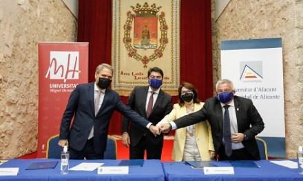 Alicante cede el Castillo de Santa Bárbara a las Universidades de Alicante y Miguel Hernández de Elche para sus cursos de verano