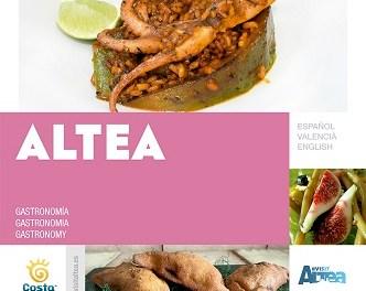 L'Ajuntament d'Altea ha editat un nou fullet promocional «Altea Gastronomia»