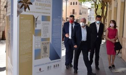 La Corredora acoge una exposición fotográfica de la evolución de la Festa con motivo del XX aniversario del Misteri d'Elx como Patrimonio de la Humanidad