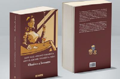 """Lanzamiento de la novela """"Obedece a la morsa"""" de los autores alicantinos David Báez, Adriano Fortarezza y Manuel Jorques"""