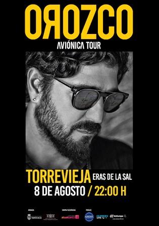 Antonio Orozco i el grup infantil Pica-Pica actuaran aquest estiu en el recinte de les Eres de la Sal de Torrevella