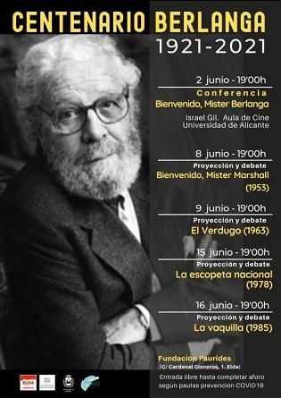 La Universitat d'Alacant es bolca amb el Centenari Berlanga
