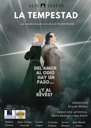 Alpi Teatre estrena el divendres a l'Alfàs 'La TempestaD' de Shakespeare