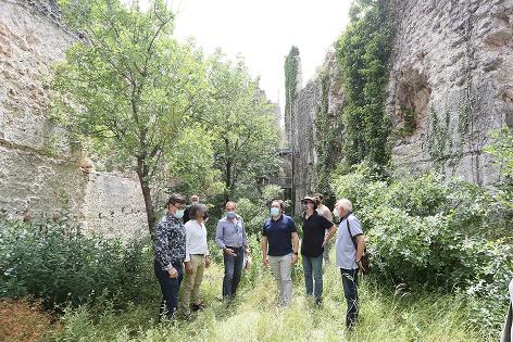 La Diputación de Alicante recupera en L'Orxa uno de los castillos más emblemáticos y relevantes de la provincia