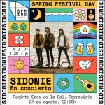 """Llega """"Spring Festival Day"""" el próximo 27 de agosto con el directo de Sidonie"""