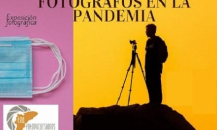 Fotógrafos en la Pandemia