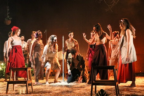 El festival Escènica 2 de Villena inicia la seua programació amb l'obra teatral 'Fuenteovejuna 2040'