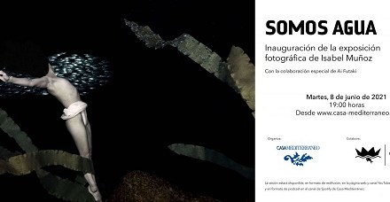 La Premi Nacional de Fotografia Isabel Muñoz inaugura l'exposició Som aigua a Casa Mediterráneo