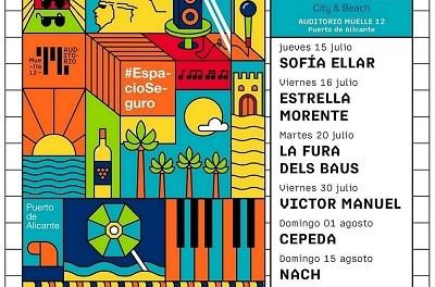 El Ayuntamiento de Alicante apuesta por el turismo musical con el Escenario Alicante City & Beach de Muelle 12
