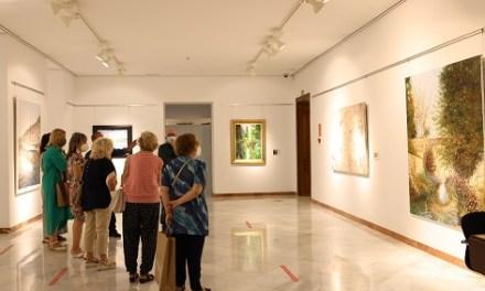 La Diputació d'Alacant presenta una exposició amb els últims treballs del pintor Evaristo Alguacil López