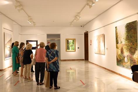 La Diputación de Alicante presenta una exposición con los últimos trabajos del pintor Evaristo Alguacil López