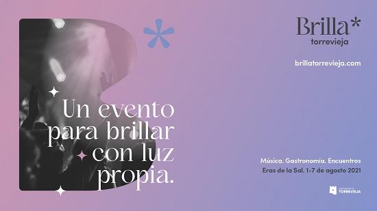 El Festival Brilla Torrevieja ofrece 5 actividades complementarias por poner en valor el territorio donde se celebra