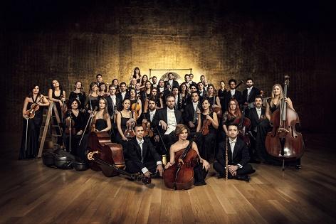 """Concierto de la orquesta de la Diputación de Alicante """"Adda·Simfònica"""" en el Auditori del Castell de Finestrat"""