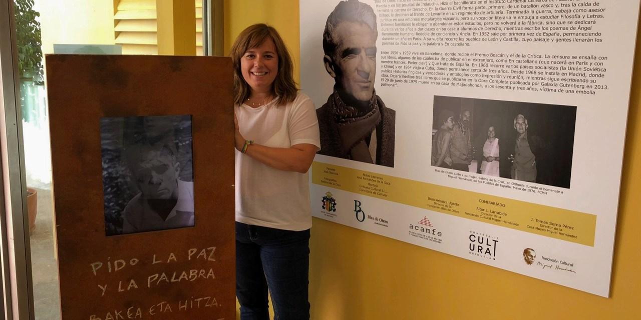 Blas de Otero vuelve a Orihuela 45 años después gracias a la exposición que lleva su nombre en la Casa Museo Miguel Hernández