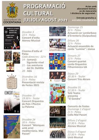 Ciclo de conciertos que despierta la esencia de SENT-ME en Cocentaina