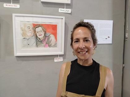 """Beatriz Vicente: """"Me gusta dibujar a la gente, es algo que me sale natural"""""""