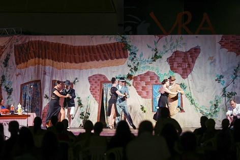 L'Associació Hispà Argentina d'Alacant va portar la cultura del tango a la Vila Romana de l'Albir