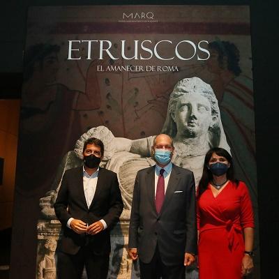 El MARQ y la embajada de Italia inauguran la exposición internacional 'Etruscos. El amanecer de Roma'