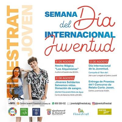 Finestrat celebra el día internacional de la juventud con una semana de actividades