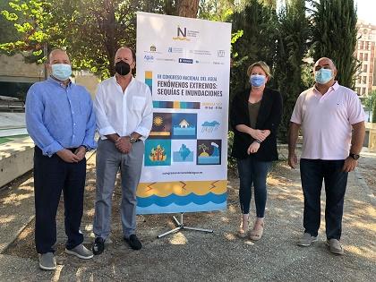 El III Congreso Nacional del Agua de Orihuela versará sobre 'Fenómenos extremos: sequía e inundaciones'