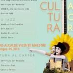 """La programación musical de """"Cultura al carrer"""" de Petrer contempla 8 actuaciones para el mes de agosto"""