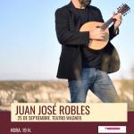 El compositor Juan José Robles este sábado en el Teatro Wagner de Aspe