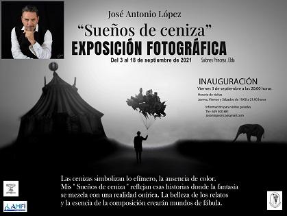 La exposición «Sueños de Ceniza» de José Antonio López en Elda