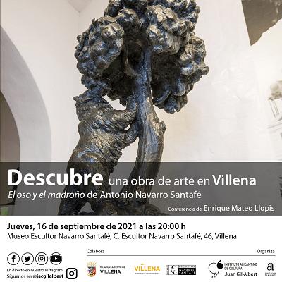 Villena y Aspe acogen sendas conferencias sobre arte y patrimonio organizadas por el Instituto Juan Gil-Albert