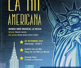 """El concert """"La Nit Americana"""" a La Nucia dedicat a la música americana aquest 5 de setembre"""